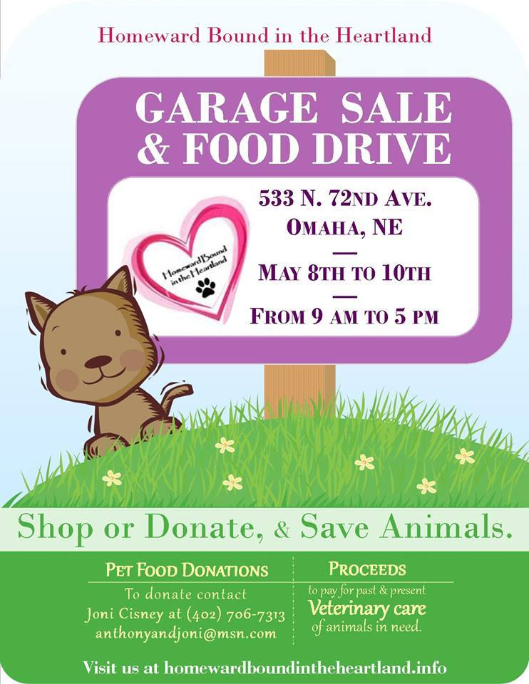 Garage sale flyer #1 2014